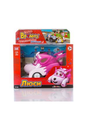 Игрушка Врумиз машинка со звуковыми и световыми эффектами Люси. Цвет: розовый