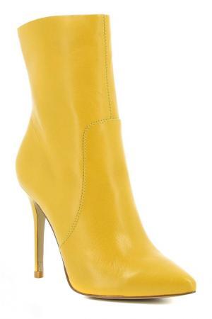 Ботильоны Paolo Conte. Цвет: желтый