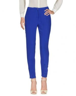 Повседневные брюки BEAYUKMUI. Цвет: синий