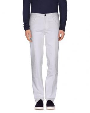Повседневные брюки ANGELO NARDELLI. Цвет: белый