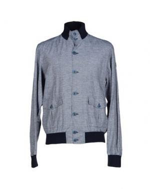 Куртка COOPERATIVA PESCATORI POSILLIPO. Цвет: темно-синий