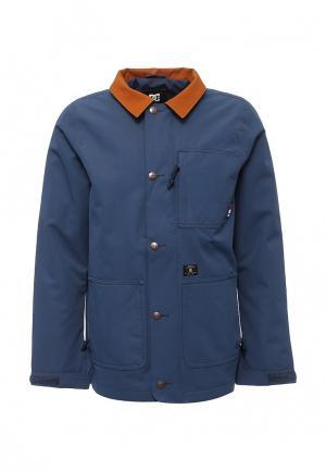 Куртка утепленная DC Shoes. Цвет: синий