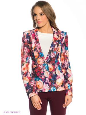 Пиджак Marlen. Цвет: фуксия, синий, бледно-розовый