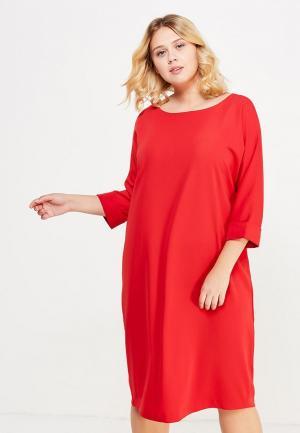 Платье Silver String. Цвет: красный