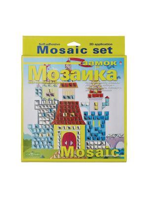 Набор декоративная мозаика  №7 замок Альт. Цвет: красный