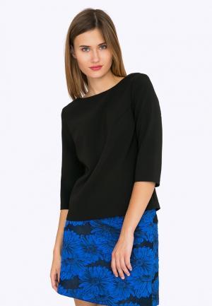 Блуза Emka. Цвет: черный