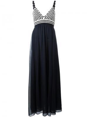 Платье Jade Diane Von Furstenberg. Цвет: синий