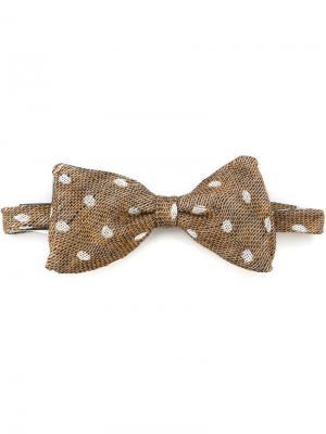 Плетеный галстук-бабочка Al Duca D'Aosta 1902. Цвет: многоцветный