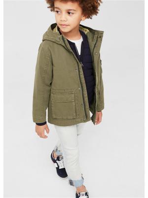 Куртка - JACK Mango kids. Цвет: хаки