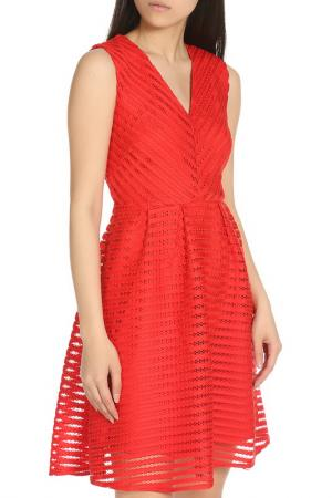 Колоритное летнее платье YUMI. Цвет: red