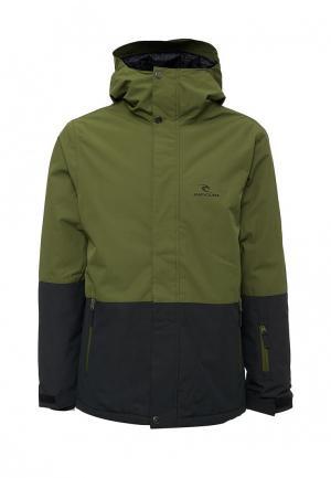 Куртка горнолыжная Rip Curl. Цвет: зеленый