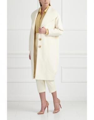 Пальто MoS. Цвет: белый