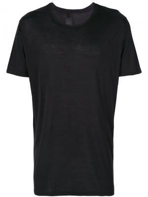 Базовая футболка Thom Krom. Цвет: чёрный