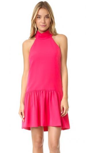 Платье Katelyn с заниженной талией Milly. Цвет: розовый