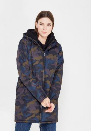 Куртка утепленная Ichi. Цвет: разноцветный