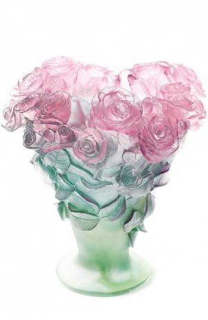 Ваза Roses Daum. Цвет: бесцветный