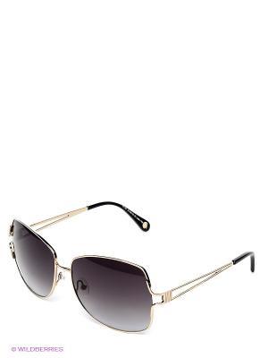 Солнцезащтные очки Enni Marco. Цвет: золотистый
