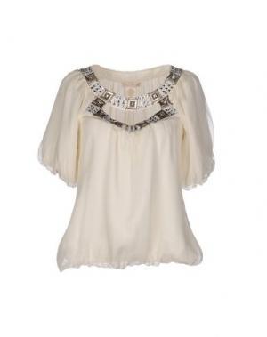 Блузка GOLD HAWK. Цвет: слоновая кость