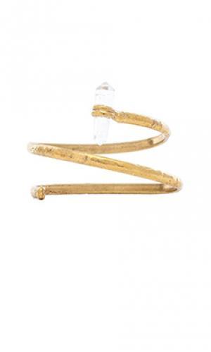 Ободок на руку little dreamer Natalie B Jewelry. Цвет: металлический золотой