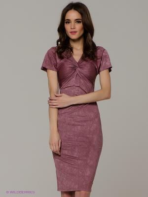 Платье Vika Smolyanitskaya. Цвет: сливовый