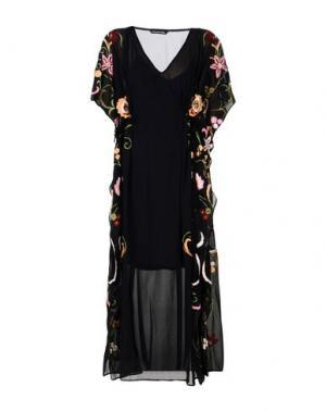 Длинное платье KAS NEWYORK. Цвет: черный