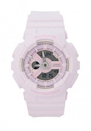 Часы Casio. Цвет: фиолетовый