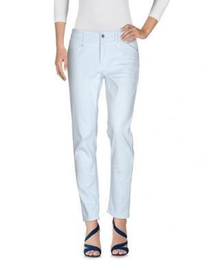 Джинсовые брюки CAMBIO. Цвет: небесно-голубой