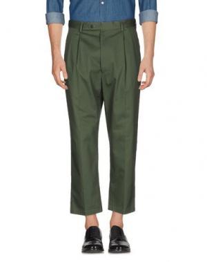 Повседневные брюки LC23. Цвет: изумрудно-зеленый