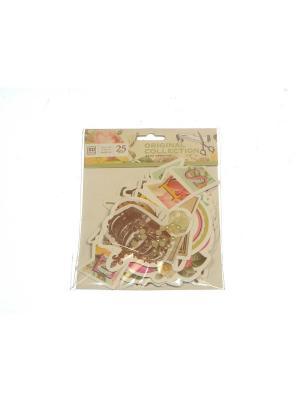 Набор Декор для открытки Азбука Тойс. Цвет: салатовый