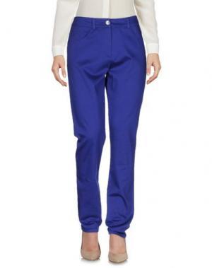 Повседневные брюки PAUSE CAFÉ. Цвет: фиолетовый