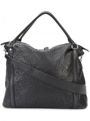 Monogram hobo tote Louis Vuitton Vintage. Цвет: чёрный