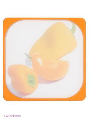 Доска разделочная Frybest. Цвет: оранжевый
