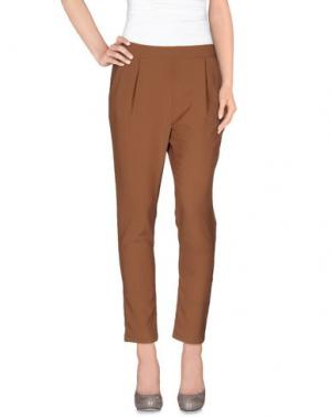 Повседневные брюки SOALLURE. Цвет: телесный