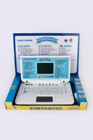Компьютер русско-английский Shantou Gepai. Цвет: голубой