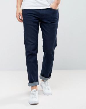 Levis Line 8 Узкие джинсы прямого кроя цвета индиго. Цвет: темно-синий