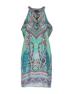 Короткое платье HALE BOB. Цвет: зеленый