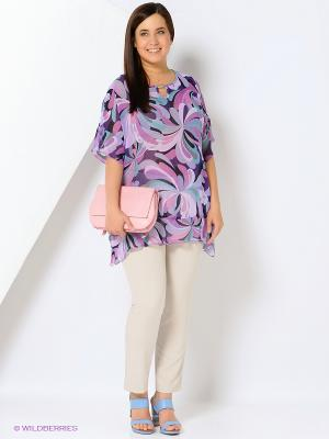 Блузка Emi Filini. Цвет: фиолетовый