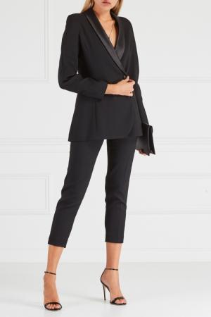 Однотонные брюки Chapurin. Цвет: черный