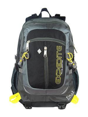 Рюкзак UFO PEOPLE. Цвет: серый, черный