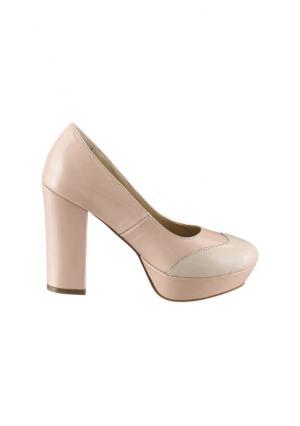 Туфли Andrea Conti. Цвет: розовый/бежевый