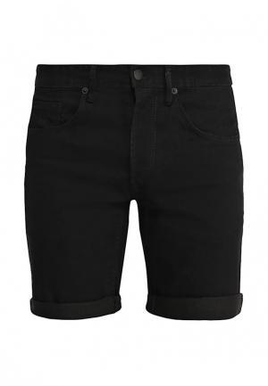 Шорты джинсовые Solid. Цвет: черный