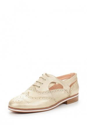 Ботинки Betsy. Цвет: золотой