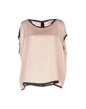 Блузка JUCCA. Цвет: розовый
