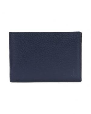 Бумажник MIANSAI. Цвет: темно-синий