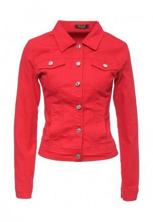 Куртка G&G. Цвет: красный