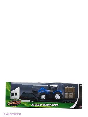 Фермерский грузовой автомобиль c синим трактором HTI. Цвет: синий