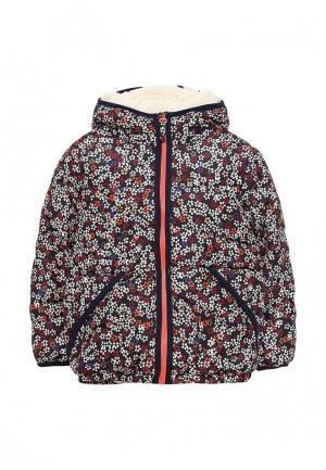Куртка утепленная Esprit. Цвет: разноцветный