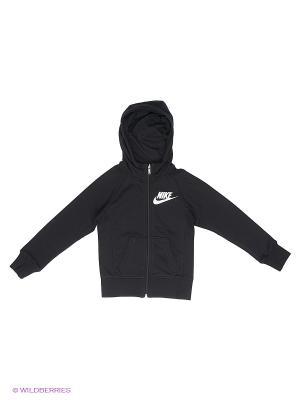 Толстовка Nike. Цвет: черный