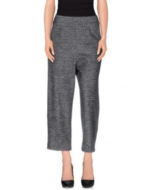 Повседневные брюки TERESA DAINELLI. Цвет: стальной серый