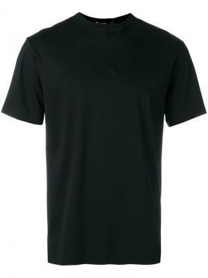 Однотонная футболка T By Alexander Wang. Цвет: чёрный